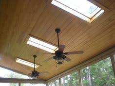 hunter 54 coral gables indoor outdoor fan i would really like one of these outdoor misting ceiling fans and