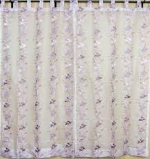 embroidered curtains handmade ethnic india 2 mauve window door