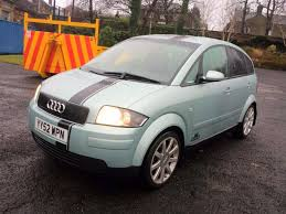 2003 audi a2 sport green 1 4 5 speed manual service history s3