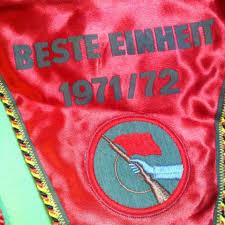 usd 91 67 old polish flag flag east germany ddr nva militia