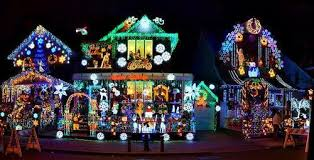 christmas light show los angeles six residential streets with amazing christmas lights candy canes