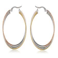 danglers earrings design fashion design dangler heavy gold bamboo earrings top big