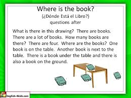 The Book Is On The Table English Lesson Ppt Descargar