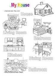 kids love english parts of the house great idea for kids to study