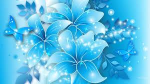 Light Blue Blue Flower Wallpaper High Resolution Box Pinterest Flower