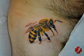 bee tattoo meaning bumble and honey bee tattoo queen bee