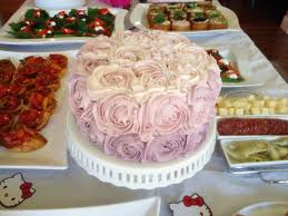red velvet ombre rose cake blessings good food