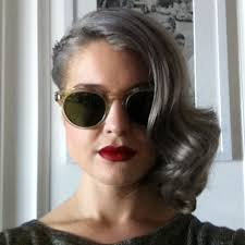 frosted gray hair pictures embracing gray hair the female silver fox the layer loxa beauty