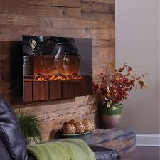 Electric Wallmount Fireplace Touchstone Mirror Onyx 50 Inch Electric Wall Mounted Fireplace