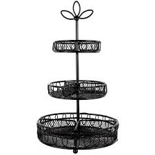 3 Tier Bathroom Stand by Bead Landing 3 Tier Metal Jewelry Stand