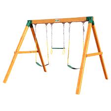 Gorilla Playsets Catalina Wooden Swing Set Gorilla Playsets Freestanding Swing Set Hayneedle