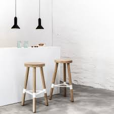 furniture oak white bar stools with white kitchen island and