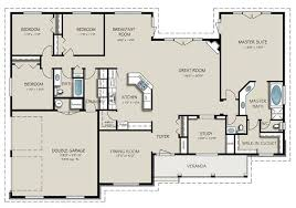 floor plans for a 4 bedroom house 4 bedroom 2 bath floor plans capitangeneral