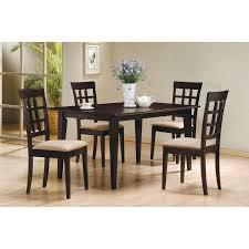 Mix Furniture Coaster Furniture 100771 Mix And Match Rectangle Leg Dining Table