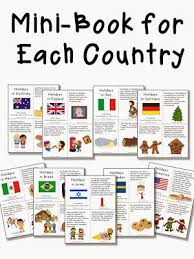 around the world activities and a freebie social