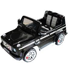 mercedes jeep black homcom 12v kids electric ride on car licensed mercedes benz g55