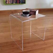 clear plastic bedside table clear acrylic plastic table bedside table end table side table