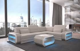 Beige Sectional Sofas Small Leather Sectional Sofa Seattle Led