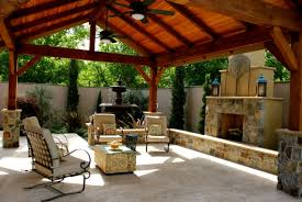backyard stone gazebo interiors design