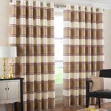 Chocolate Curtains Eyelet Chocolate Brown And Cream Eyelet Curtains Ldnmen Com