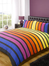 soho blue stripe duvet cover quilt bedding set blue king size