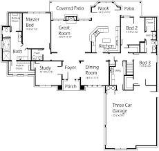 Country Club Floor Plans Country Club Plan S2792r Texas House Plans Over 700 Proven