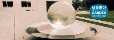 Garden Sphere Balls Aqua Globe Garden Water Features Acrylic Water Features