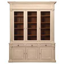 Limed Oak Kitchen Cabinets Antique French Limed Oak Bookcase Or Bibliotheque At 1stdibs
