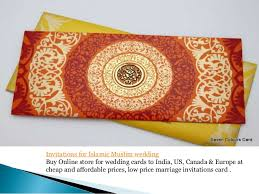 wedding cards india online muslim wedding card