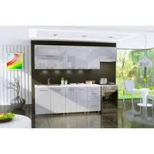 cuisine d usine dusine cuisine gris clair laquée infinity 7 éléments 2m40 pas