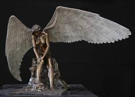 Angel Sculptures Sculpture U0027abigail Abbys Angel Bronze Sculptures U0027 By