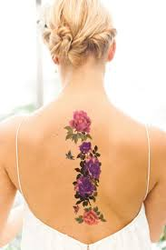 50 beautiful coloured tattoos from florals to geometric shapes