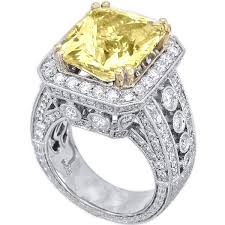 engagement rings atlanta 14k white gold 13 27ct yellow sapphire ring color