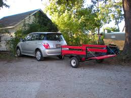 scion xa questions can an xa tow a small pop up tent trailer
