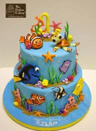 nemo cake toppers finding nemo birthday cake sea fish coral birthday