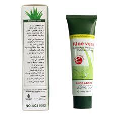 Scrub Gel aloe vera scrub gel cleanser care exfoliating
