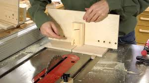 table saw dovetail jig build 2 2 youtube