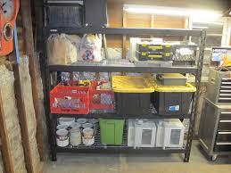 shelves stunning lowes garage shelving units steel cabinets
