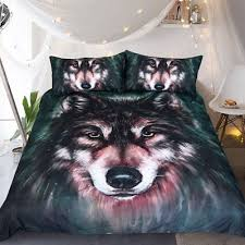 Wolf Bedding Set Wolf Bedding Zeppy Io