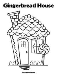 gingerbread house printable clip art pinterest gingerbread