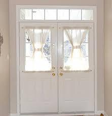 full of great ideas window covering for front door half door