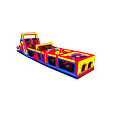 inflatable mega obstacle course challenge sections 1 2 u0026 3