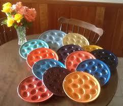 fiestaware egg plate the rainbow of fiestaware my egg plate