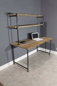 Modern Computer Desks by Raw Reclaimed Computer Desk W 2 Shelves By Urbanwoodfurnishings