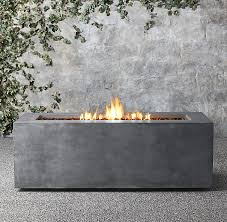 Restoration Hardware Fire Pit by 10 Beautiful Modern Fire Pits For Your Back Yard Décor Aid