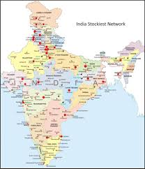 Bhopal India Map by Business Network