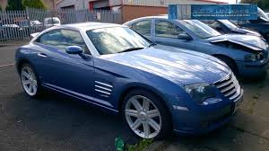 chrysler crossfire 3 2l petrol 5 speed auto 2004