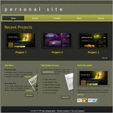 personal portfolio template personal portfolio template free website templates for free