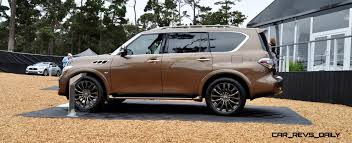 car revs daily com 2015 infiniti qx80 limited pebble beach 40