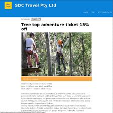 sydney the hills treetops sydney tree top adventure nsw tickets 15 off children 23 8 junior
